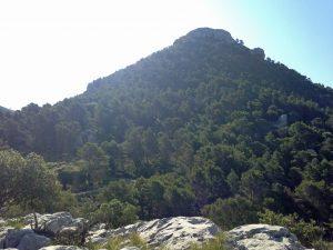 : Mehr als 100 Höhenmeter sind geschafft, wenn man am Pass Coll de l'Ofre diesen Ausblick hat.