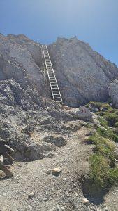 06-Seefelder-Spitze-Joch-Reither-Spitze-Leiter-klettern