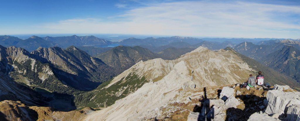 Panoramablick Richtung Norden