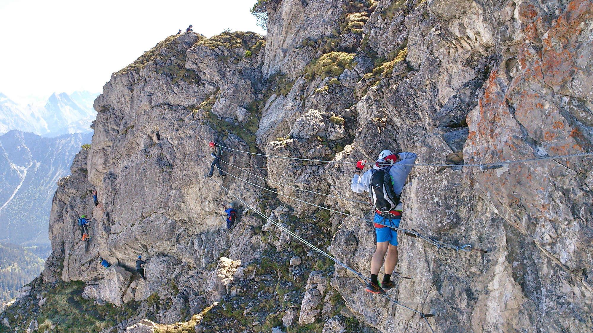 Klettersteig Kleinwalsertal : Der walsersteig u perfekte klettersteig für einsteiger your
